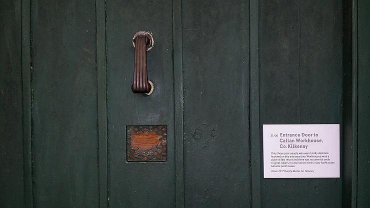 Original  Workhouse Door, from Callan, Co. Kilkenny.