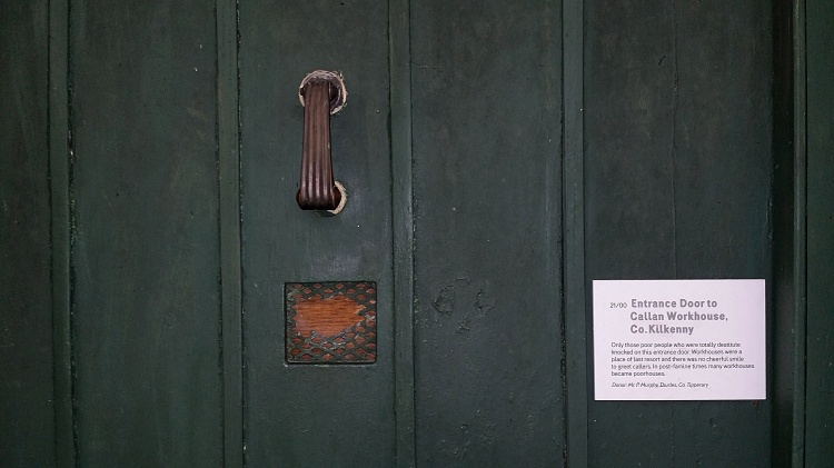 Original  Workhouse Door, from Callan, Co. Kilkenny.