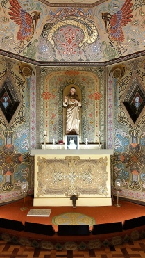 Sacred Heart Statue, Oratory, Dun Laoghaire